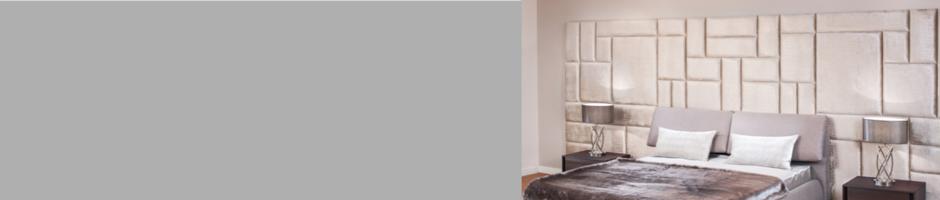 Upholstered Headboard Panels custom made | Bedroom Wall Panels ...