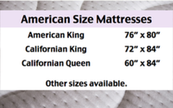 USA American Size Mattresses