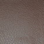 Faux Leather Cognac Grained