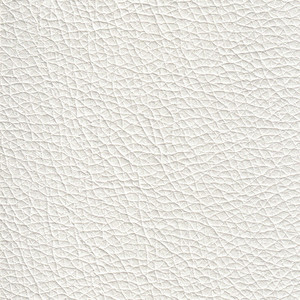White Genuine Soft Leather