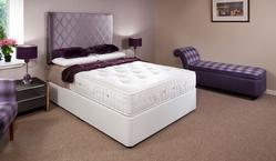 Baccarat 2000 Pocket Sprung Double Divan Bed (Hard) 137cm
