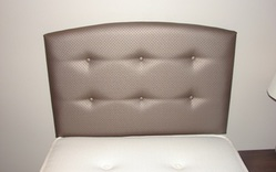 Bailey upholstered single headboard - colour choice
