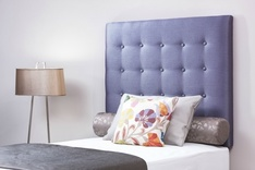 Calthorpe modern upholstered single headboard - colour choice