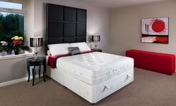 'Cloud' Interactive Pocket Sprung Single Divan Bed (Medium) 91cm