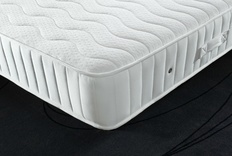Contour Coil Spring Emperor size Mattress with Memory Foam (medium) 200cm