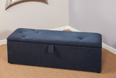 Cosmic Upholstered Ottoman Box