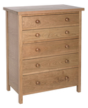 Cotswold Caners classic five drawer chest