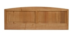 Cotswold Caners Lichfield wood panel headboard