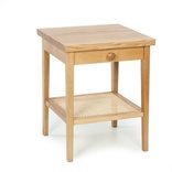 Cotswold Caners Wooden Bedside Table
