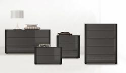 Tomasella Cristal Bedside Cabinet