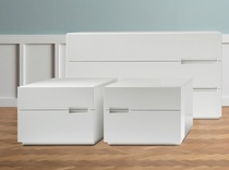 Dall'Agnese Asola 2 Drawer Bedside Cabinet - in many colours