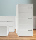 Dall'Agnese Asola 6 Drawer Tall Chest - in many colours