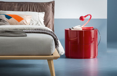 Dall'Agnese Christal 2 Drawer Bedside Cabinet - in many colours