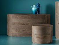 Dall'Agnese Christal Oak Chest of Drawers