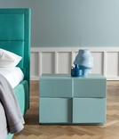 Dall'Agnese Tip Tap 2 Drawer Bedside Cabinet - in many colours