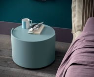 Dall'Agnese Vintage Round Bedside Table - in many colours