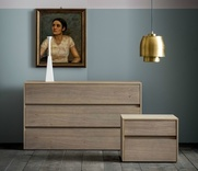 Dall'Agnese Zip Chest of Drawers in Oak - 6 finishes