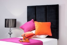 Destiny single upholstered headboard