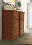 Tomasella Epoca walnut tallboy