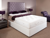 Fantasy 2000 Pocket Sprung Small Double Divan (Extra Firm) 120cm