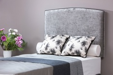 Ferrara Classic upholstered single headboard - fabric choice