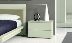 Glacier bedside cabinet