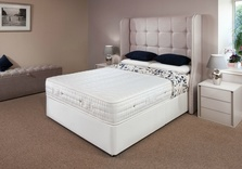 Hampton Reflex Emperor Size Divan Bed (Ever Firm) 200cm