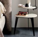 Lithos 2 Tier small bedside-coffee table - Colour Choice