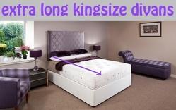 Longer Length King Size Divan Beds