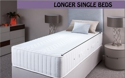 Longer Length Single Divan Beds