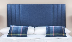 Lucia Custom Pleated Headboard