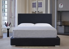 Manhattan Contemporary upholstered bed