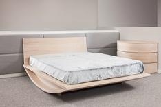 Mazzali Emiselene Modern Wooden Bed-SALE-Ex-Display