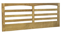 Cotswold Caners Minster ash wood headboard