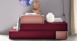 Novamobili Cube 4 Drawer Display Unit - many finishes
