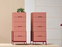 Novamobili Float 6 Drawer Tallboy
