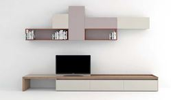 Novamobili Modern Matt TV Floor and Wall Display Units