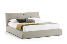 Novamobili Modo Upholstered Bed with storage option