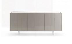 Novamobili Stripe 3 Door Modern Sideboard