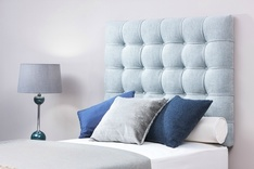 Omega buttoned single headboard - colour choice