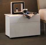 Tomasella Pass 2 Drawer bedside cabinet