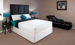 Primo Interactive Pocket Sprung Emperor Divan with Latex (Medium) 200cm