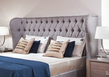 Richmond Bespoke Winged headboard