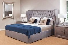 Richmond classic winged Bespoke Bed