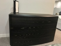 SALE NOW ON SMA Mobili Drop Dark Oak Chest of Drawers Ex-Display