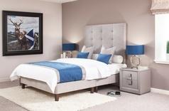 Salisbury Bespoke Handmade Bed - Fabric & Colour Choice