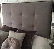 Salisbury Modern Upholstered Headboard