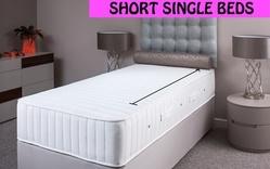 Shorter Length Single Divan Beds