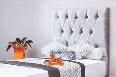 Sienna Deep Buttoned single headboard