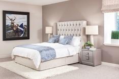 Sienna Winged Bespoke Bed